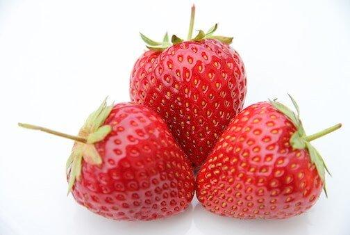 Erdbeeren von Elbe-Obst aus dem Alten Land