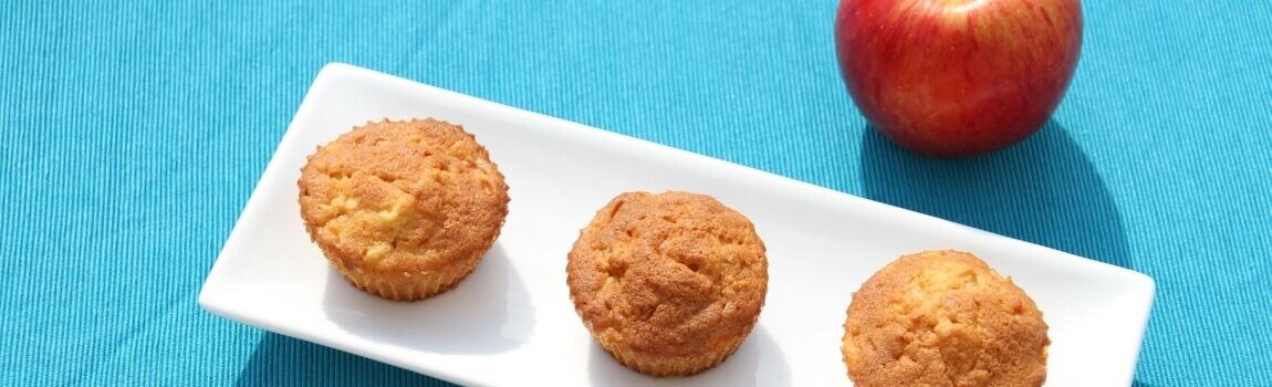 Apfel-Muffins Rezept von Elbe-Obst aus dem Alten Land