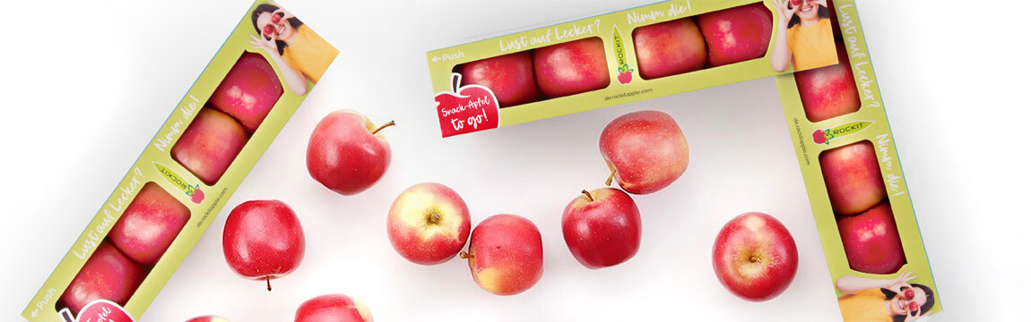 Rockit Äpfel werden von Elbe-Obst angebaut