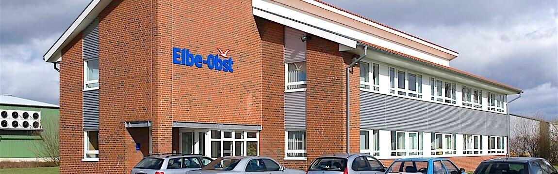 Bürogebäude von Elbe-Obst in Hollern-Twielenfelth