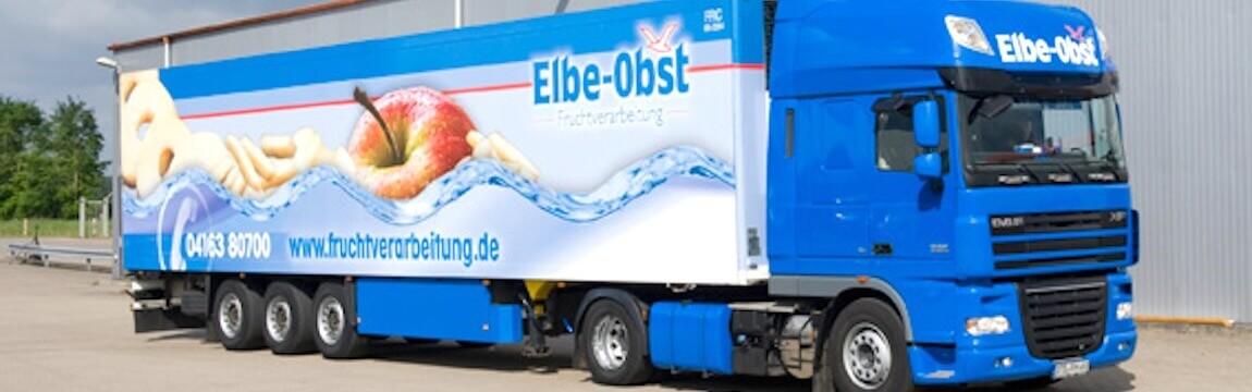 LKW von Elbe-Obst