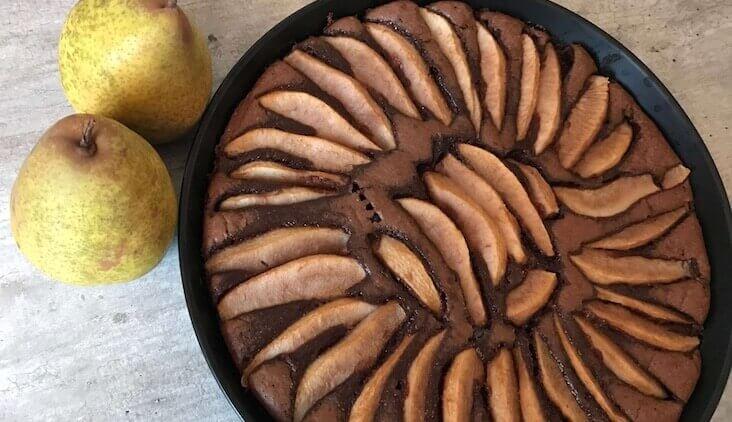 Birnen-Schoko-Kuchen Rezept von Elbe-Obst aus dem Alten Land