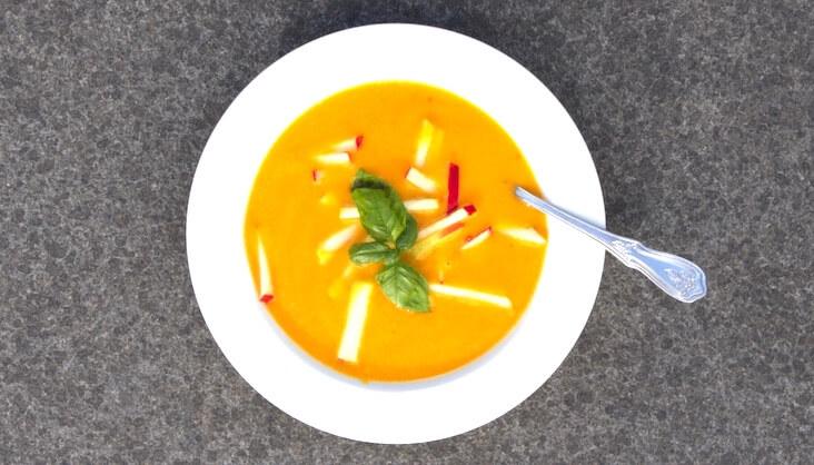 Rezept Süßkartoffel-Apfel-Suppe