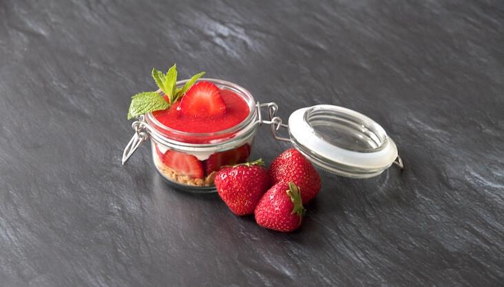 Rezept Erdbeeren-Keks-Dessert