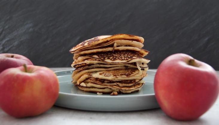 Rezept Apfel-Quark-Blinis