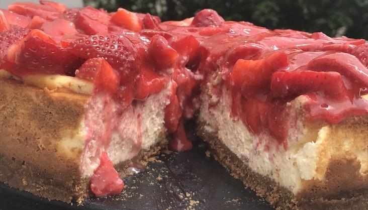 Rezept Erdbeer-Käsekuchen von Elbe-Obst