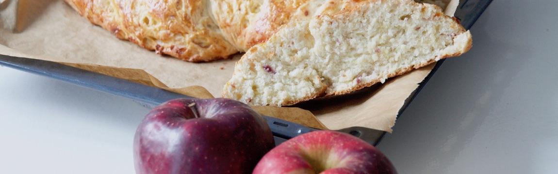 Rezept Hefezopf mit Apfel von Elbe-Obst