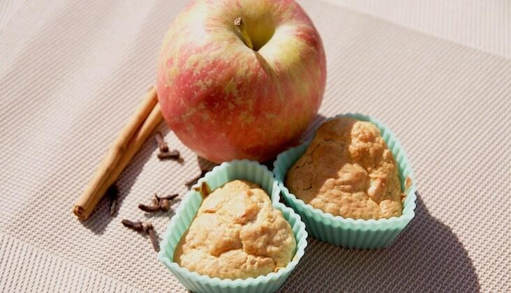 Rezept Würzige Apfelmuffins von Elbe-Obst