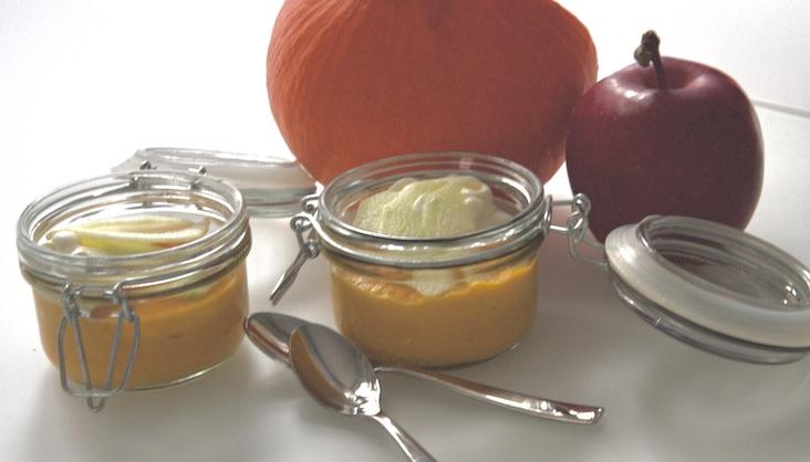 Rezept Apfel-Kürbis-Creme von Elbe-Obst